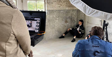 Wolky behind-the-scenes AW21