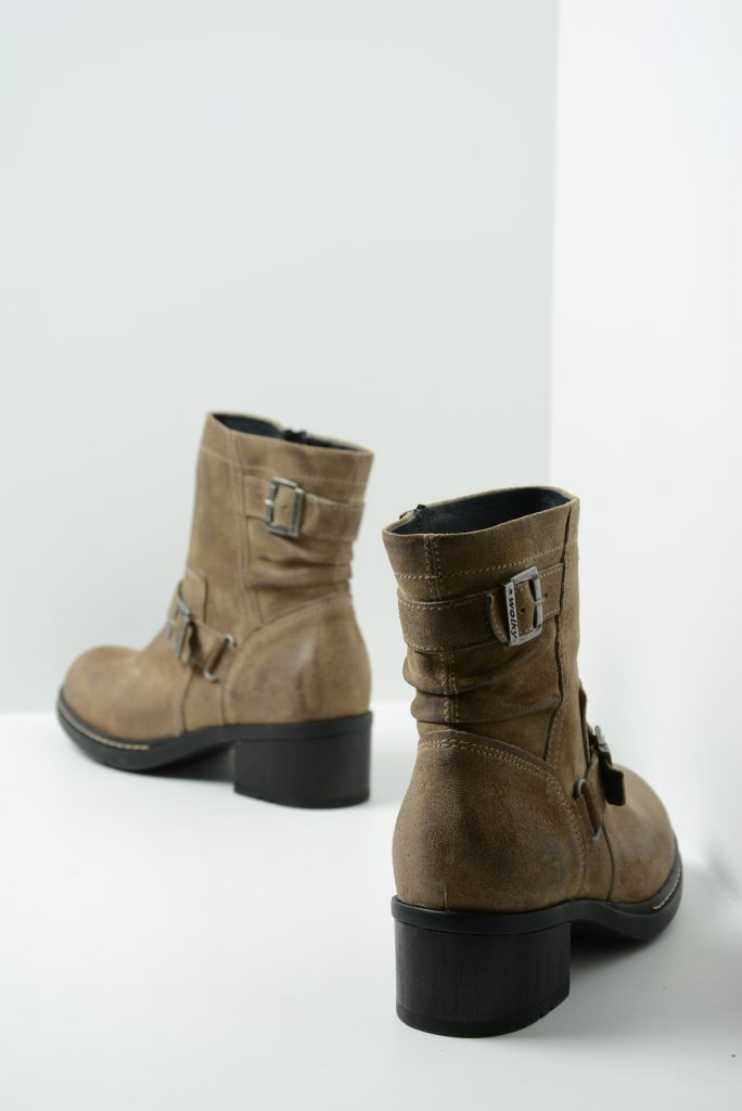 wolky biker boots 01265 raymore 45150 taupe suede back