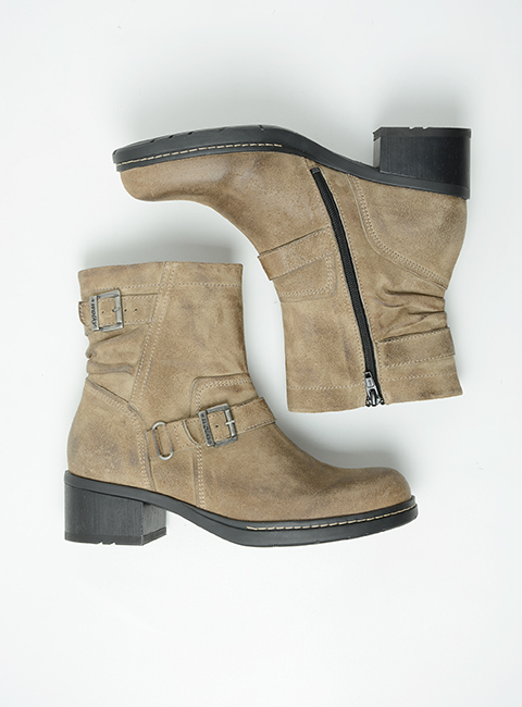 wolky biker boots 01265 raymore 45150 taupe suede top