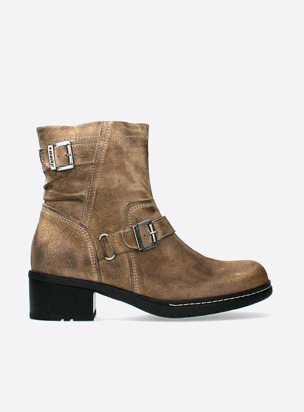 wolky biker boots 01265 raymore 45150 taupe suede