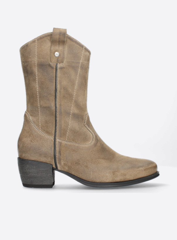 wolky cowboyboots 02880 caprock hv 45150 taupe suede